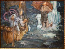 The_Voyage_of_St._Brandan_by_Edward_Reginald_Frampton,_1908,_oil_on_canvas_-_Chazen_Museum_of_Art_-_DSC02356